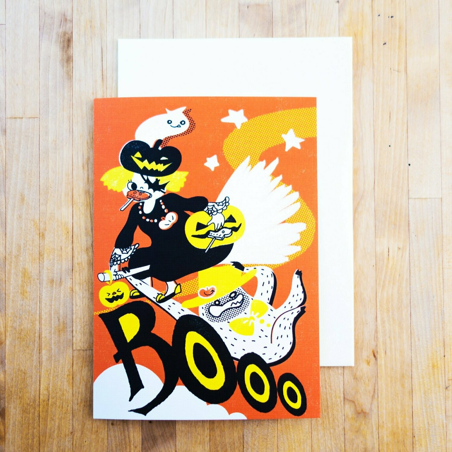 Boo Witch, Halloween Card