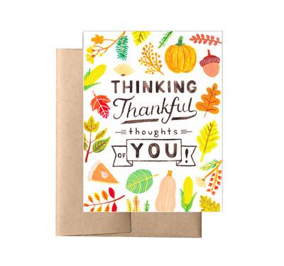 Thankful Fall Card