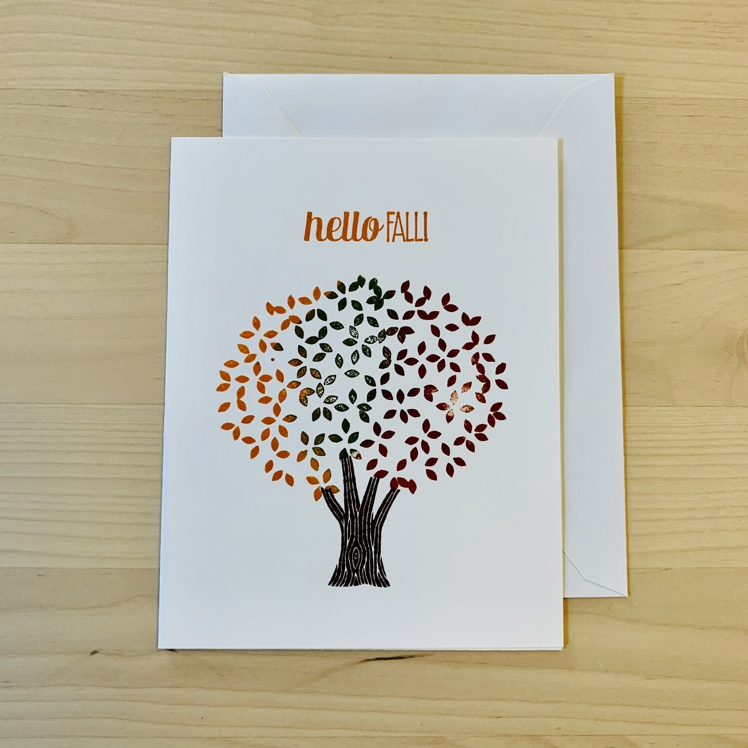 Hello Fall! Card