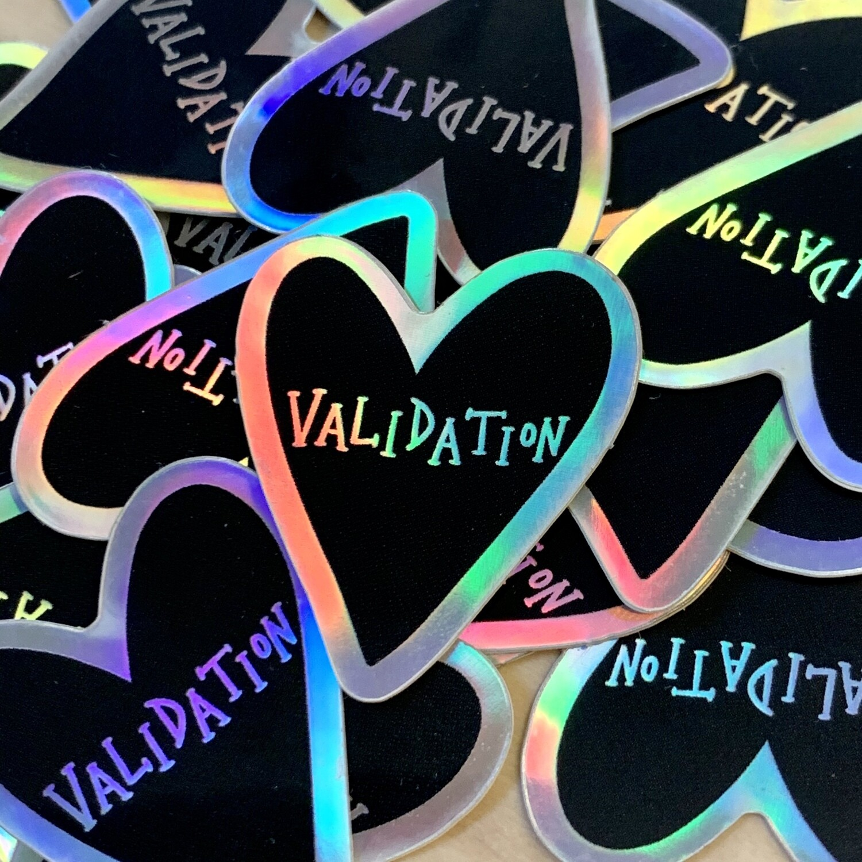 Validation Sticker