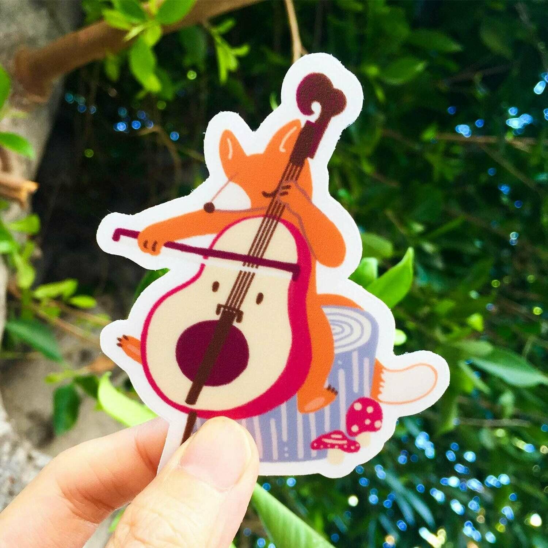 Musician Sticker