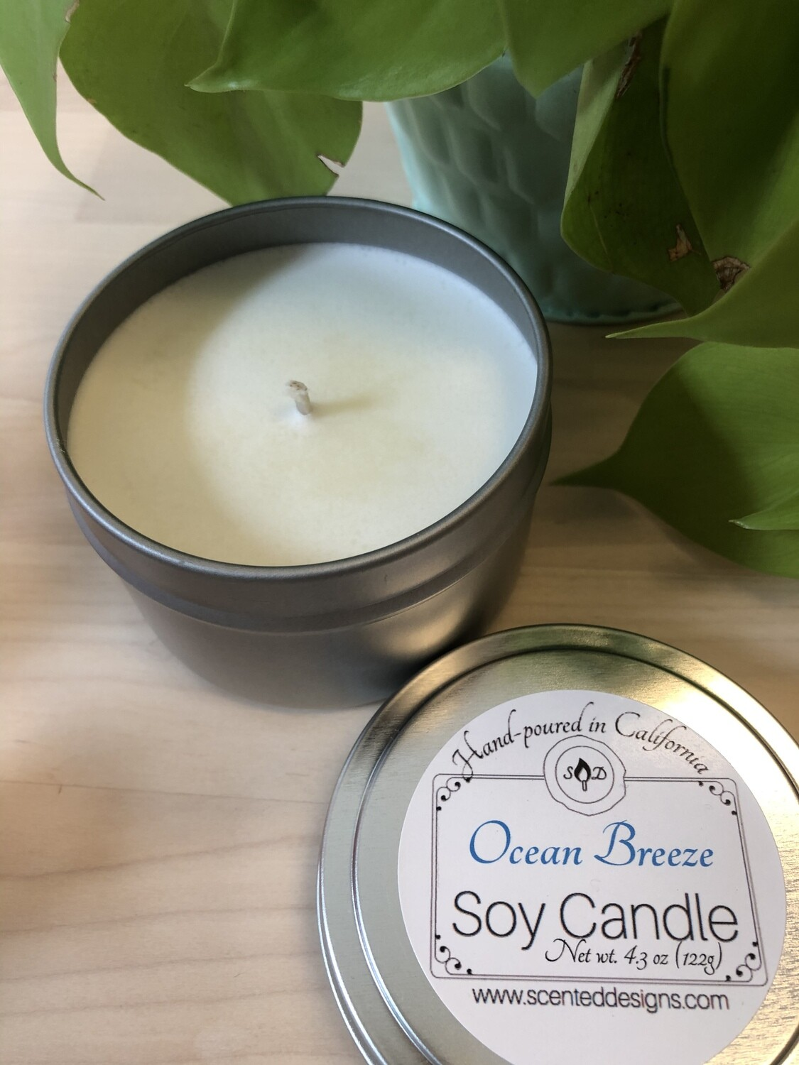 Travel Tin Soy Candle - Ocean