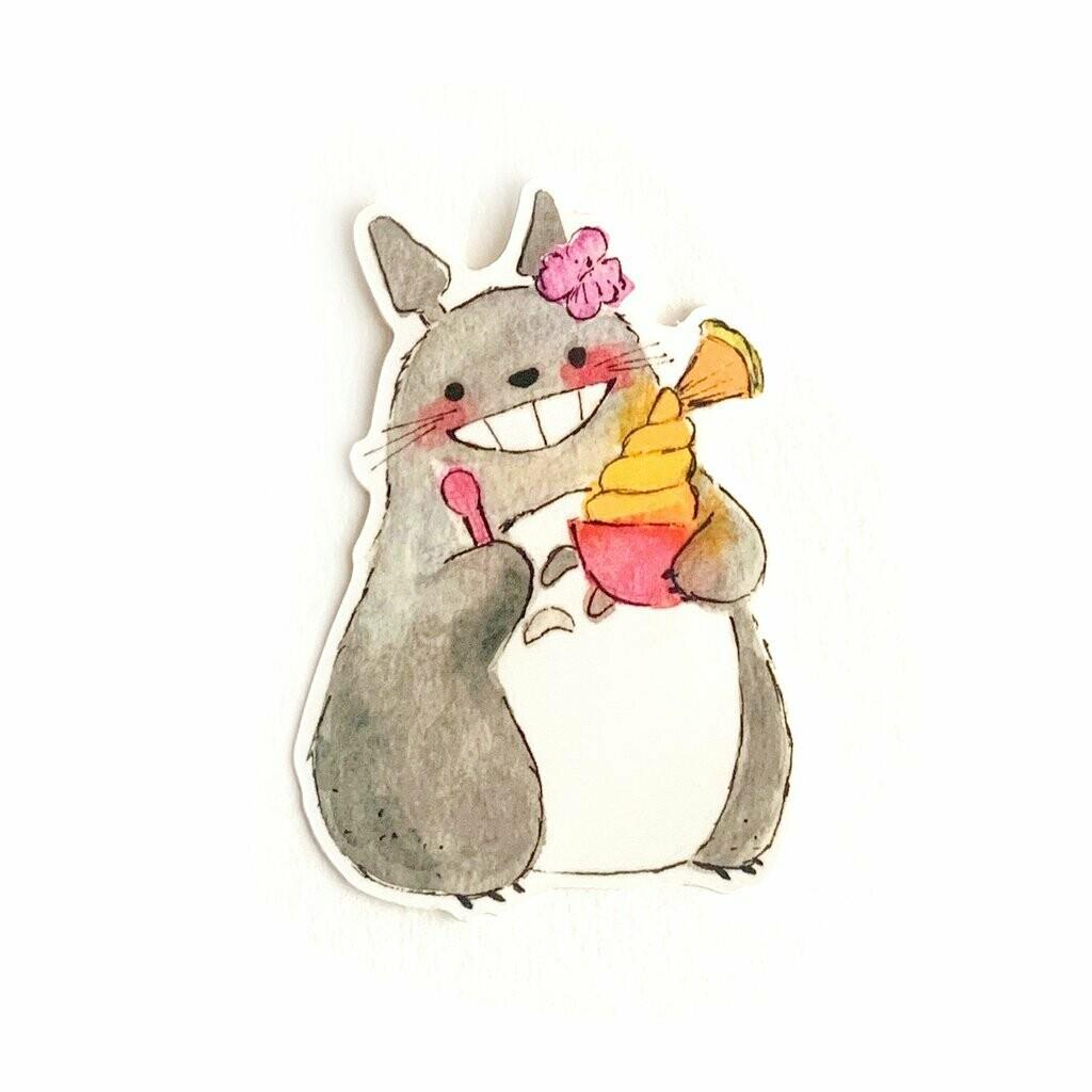 Dole Whip Totoro Sticker