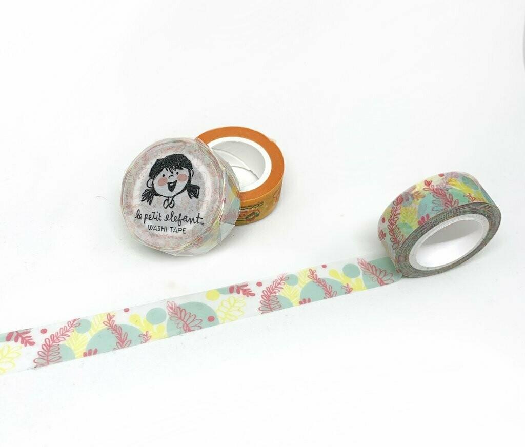 Flora Washi Tape