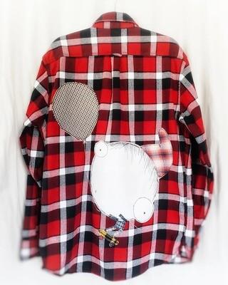 Humbauer's Big Balloon Idea - Twisted Thread Flannel
