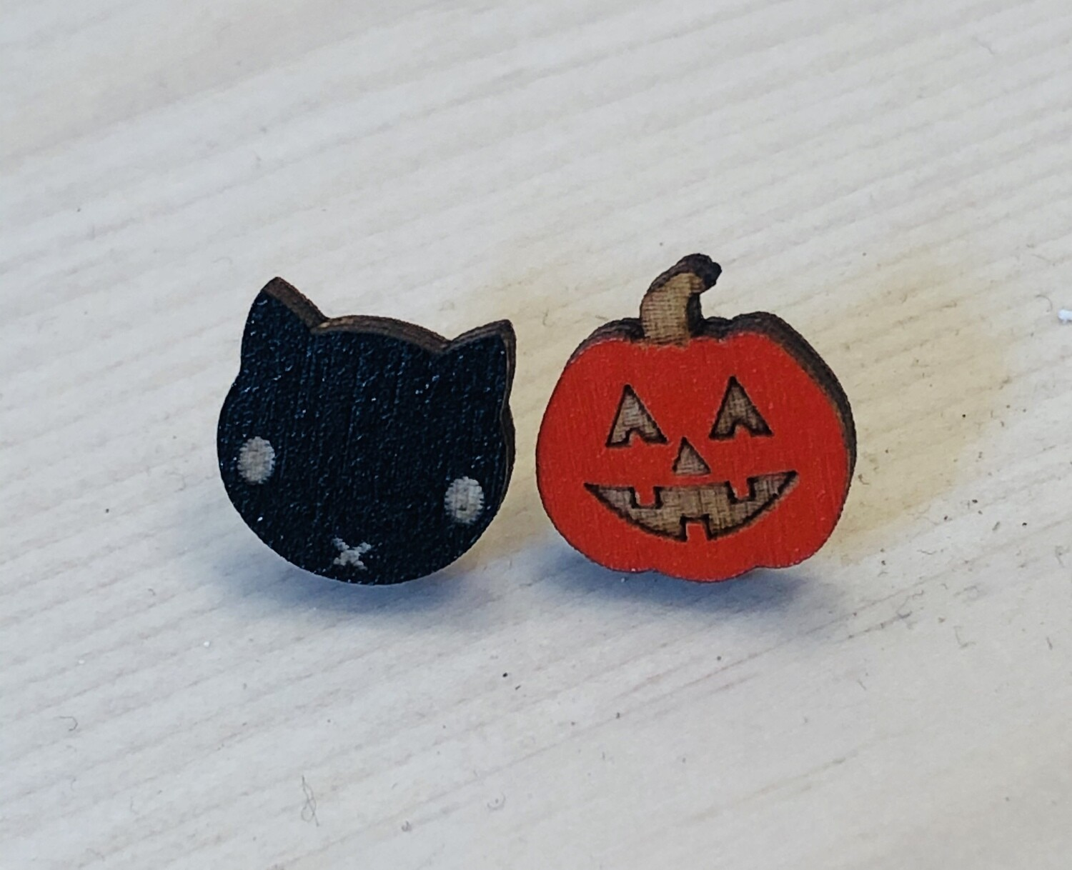 Jack and Cat Earrings