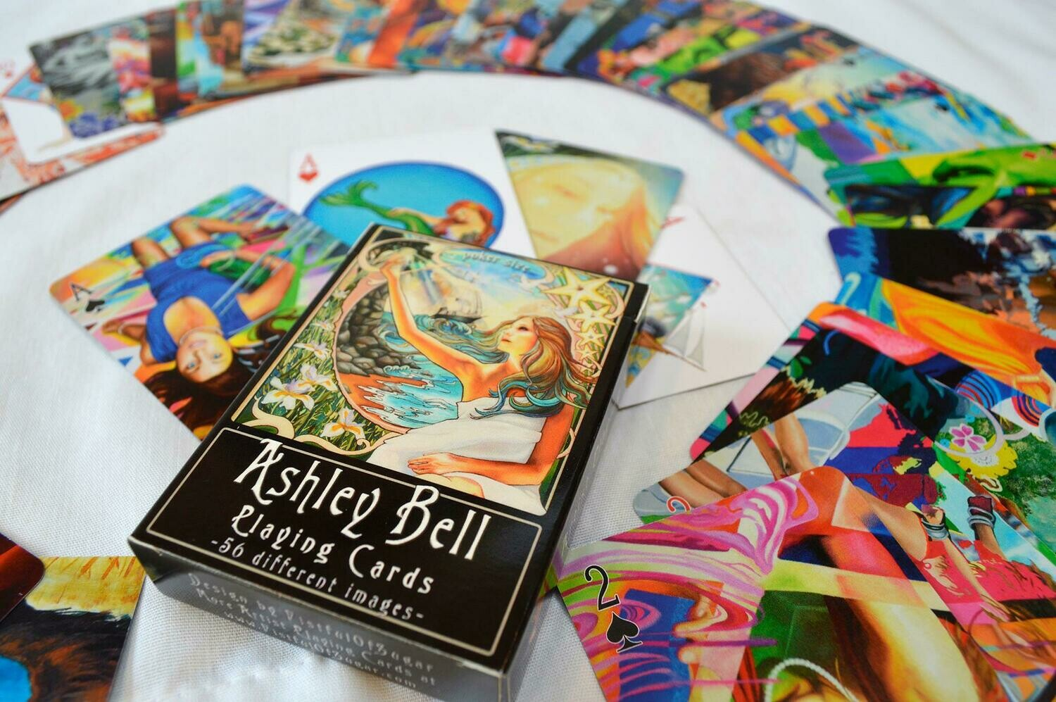 Playing Cards, Ashley Bell Art Cards