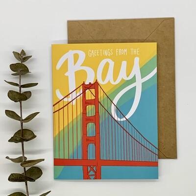 Card, Bay Greetings