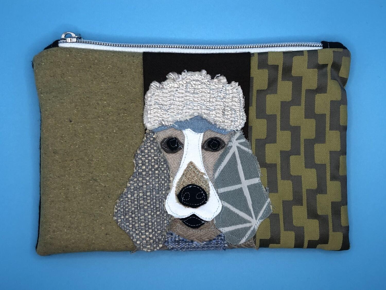 Poodle  Zippered Bag