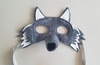 Mask, Wolf - Grey