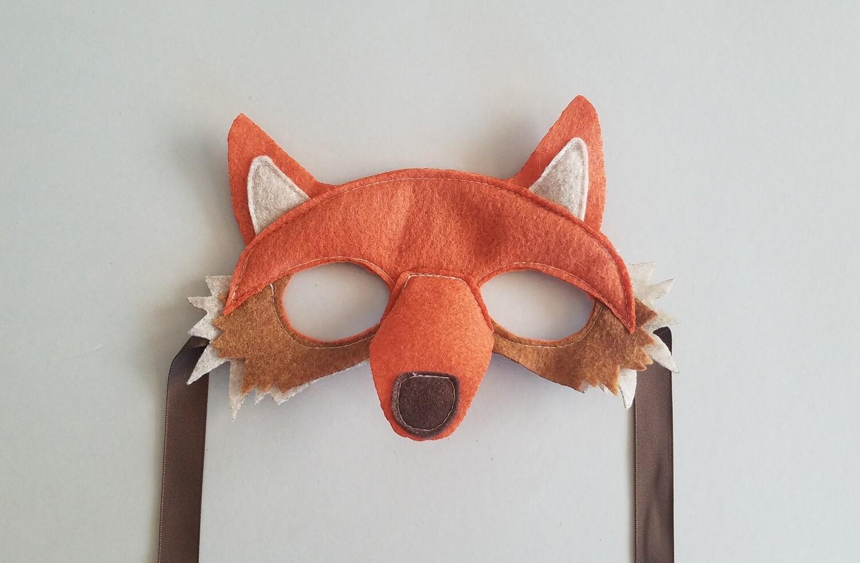 Mask, Fox - Orange