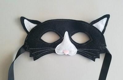 Mask, Cat - Black