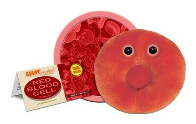 Red Blood Cell, Original 5-7'' Plush