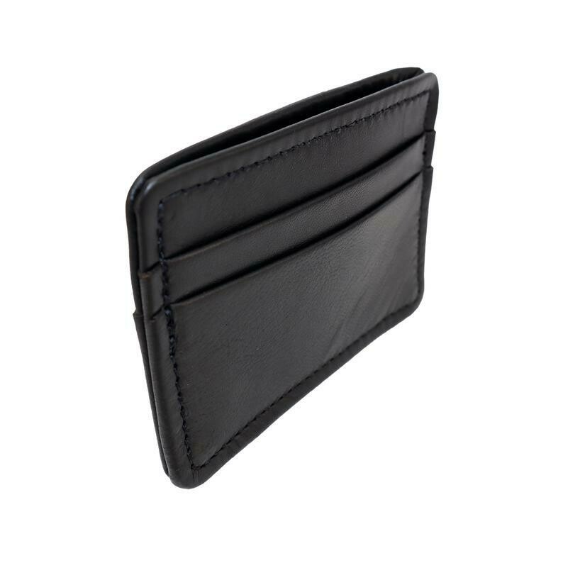 Card Holder Wallet, Lambskin Leather