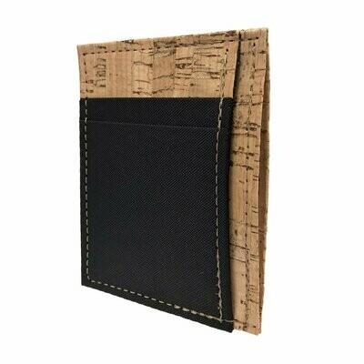 Front Pocket Wallet, Cork & Polyester