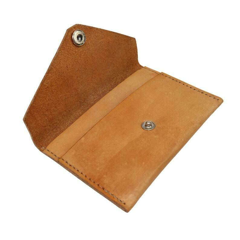 Card Pouch, Tan Leather