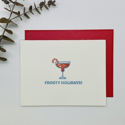 Holiday - Frosty Holidays Card