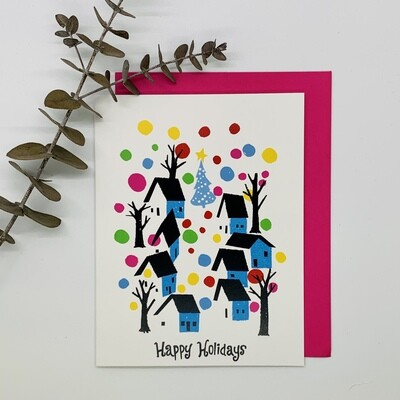 Small Town Holidays, Single Holiday Card