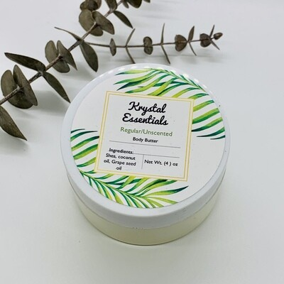 Unscented Body Butter 4 oz