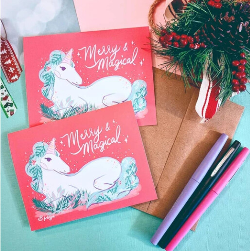 Merry & Magical, Holiday Card