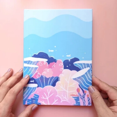 Hardcover Journal, Coral Reef