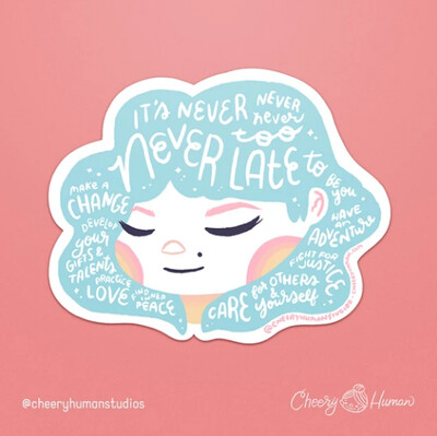 Sticker, Hair Emotions - Never Too Late