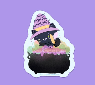 Sticker, Cleo the Potion-Making Cat