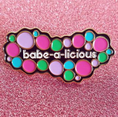 Enamel Pin, babe-a-licious