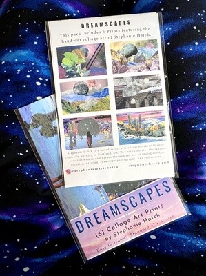 Dreamscapes, 4x6 Art Print Set of 6