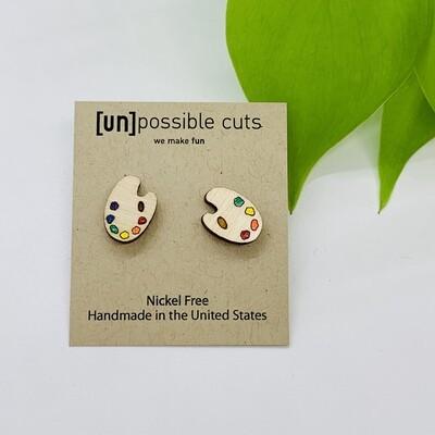 Pallete Earring