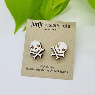 Skull & Bones Earring