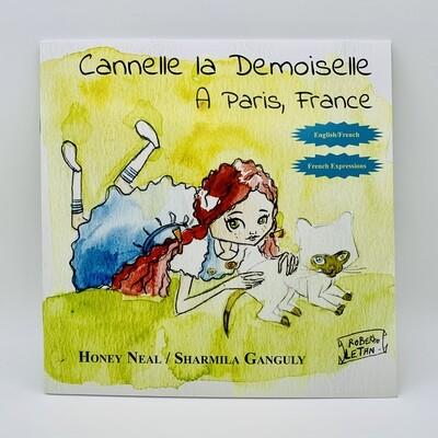 Cannelle la demoiselle, French-English Children's Book