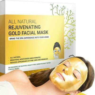 Anti-Wrinkle & Rejuvenating Gold Facial Mask
