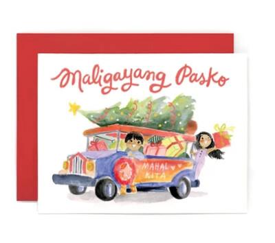 Maligayang Pasko Jeepney Card