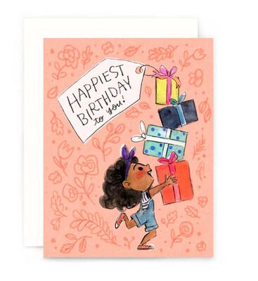 Happiest Birthday Presents Card