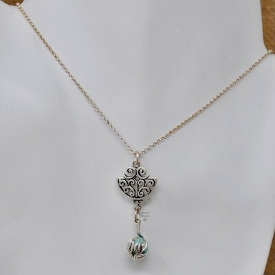 Turquoise Draper, Necklace