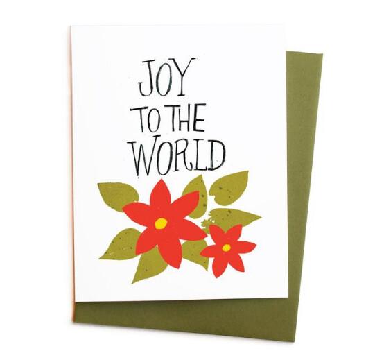 Joy To The World Poinsettias, Single