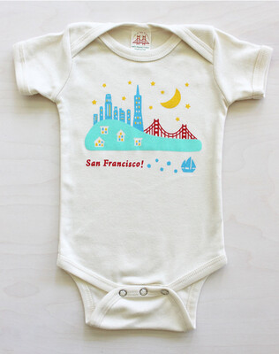 Bear and Rabbit, Baby Onesie 12-18M