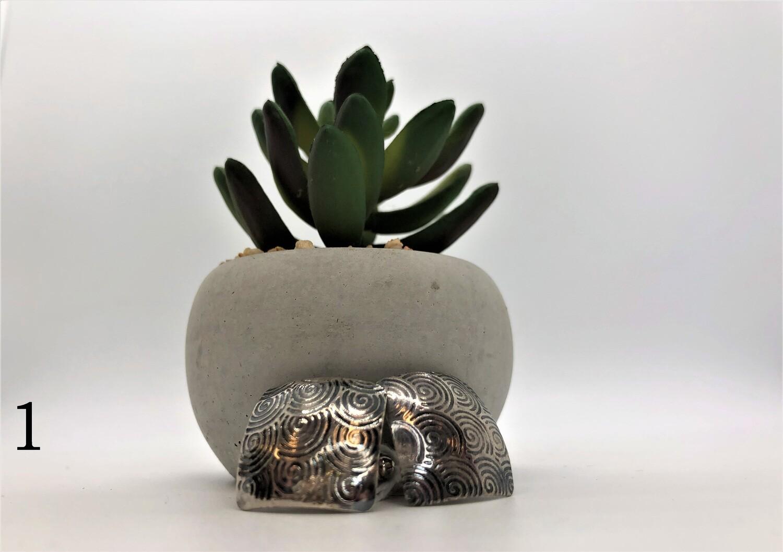 Square Cufflinks - Sterling Silver