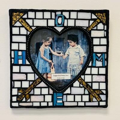 Handmade Mosaic Frame - Home