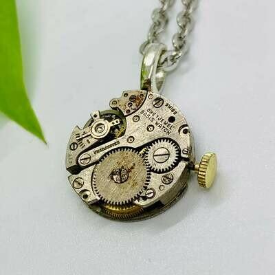 Clockwork Necklace - No. MMXXI004