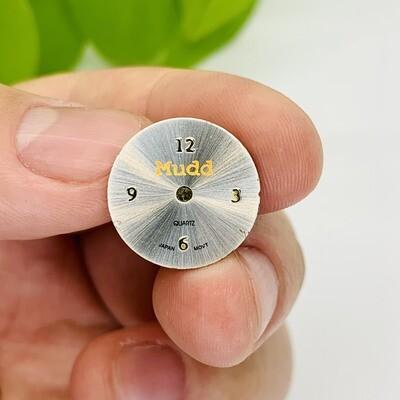 Clockface Pin - No. MMXV007