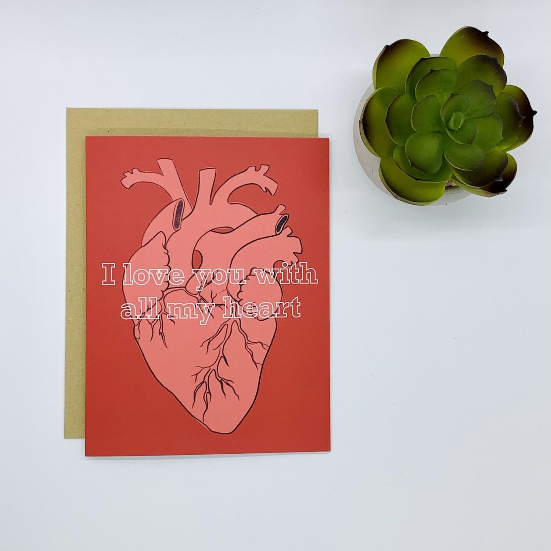 Card, All My Heart