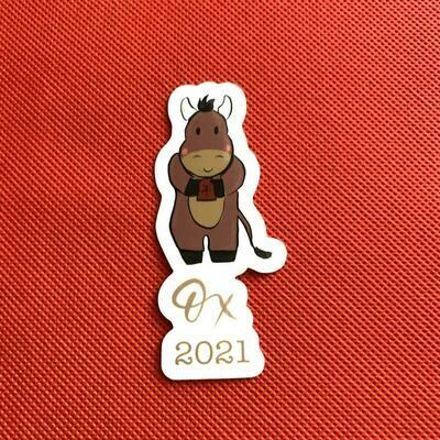 Ox Chinese New Year Sticker