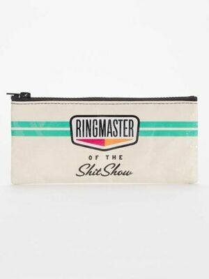 Ringmaster Shitshow Pencil Case