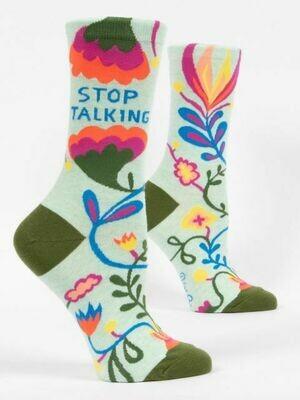 Stop Talking Women's Crew Socks