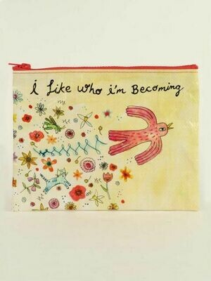 Who I'm Becoming Zipper Pouch