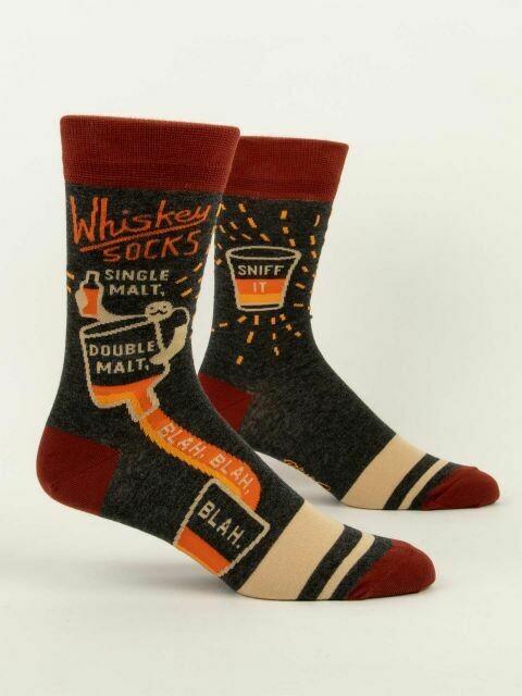 Whiskey Socks Men's Crew Socks