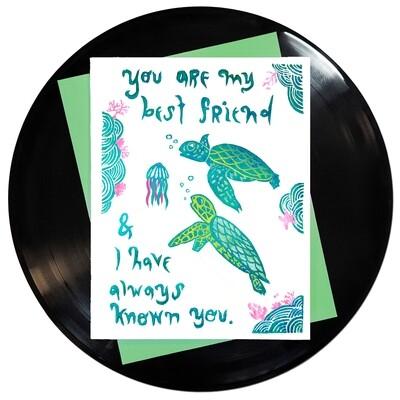 Always Known You Best Friend Card
