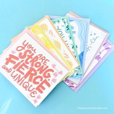 Everyday Pep Talks - Boxed Card Set of 7